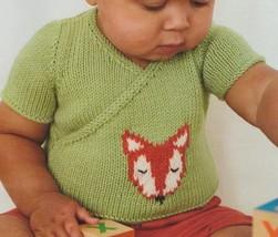 Baby Fox Sweater Pattern, Digital PDF Download - $2.00
