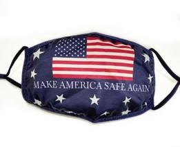 Trump Face Mask 2020 MAGA Make America Safe Again Fashion Mask - $4.99