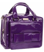KATE SPADE LITTLE KENNEDY RUBY STREET AFRICAN VIOLET LEATHER SATCHEL BAG... - $269.99