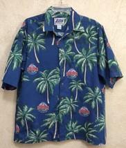 Reyn Spooner Sports Shirt NFL Probowl 2005 AllStar Game Hawaiian Islande... - $17.81