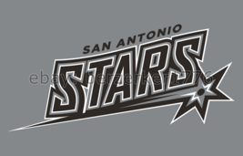 San Antonio Stars WNBA 3'x5' silver Flag Becky Hammon Sophia Young USA seller - $25.00