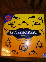 Think Blot Game Board Game by Mattel 2000 - $14.24