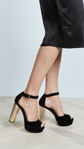 New! MICHAEL KORS ~Sizes 8.5 & 9~ Paloma Suede Peep-toe Platform Sandals... - $95.00