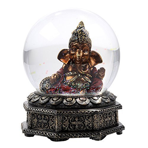 Hindu Religion Deity Lord Ganesha Remover of Obstacles Meditation Altar Collecti - $29.05