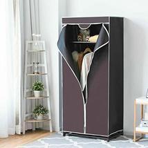 TkDirect4 Fabric Wardrobe Portable Clothes Closet Non-Woven Storage Orga... - $59.40