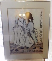 RC Gorman Spider Woman Native American Framed & Matted Print - $371.24