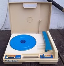 Vintage 1978 Fisher-Price Portable Turntable Record Player #825 - 33 & 4... - $52.25