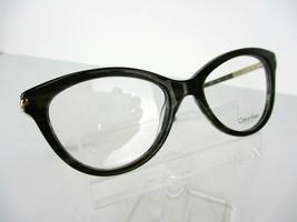 Calvin Klein CK 7983 (381) Olive Horn 50 X 16 135 mm Eyeglass Frame - $62.32