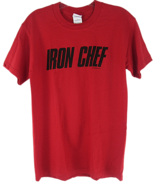 Iron Chef TV Show T-Shirt TM & Fuji Television Inc. Gildan Heavy Cotton... - $14.84
