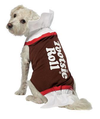 Tootsie Roll Dog Costume Small  Costume