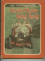 vintage CHITTY CHITTY BANG BANG board game parts + books - $8.00
