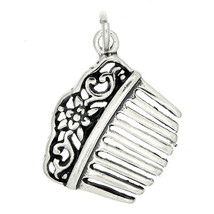 STERLING SILVER VICTORIAN STYLE HAIR COMB CHARM - $9.04