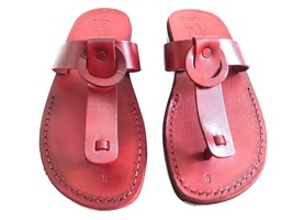 Leather Sandals for Men and Women NATALY by SANDALIM Biblical Greek Summ... - $39.44 CAD+