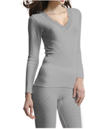 Palm Ladies/Womens Stylish Brushed Side Seam Free Thermal Long Sleeve Vest - $24.30+
