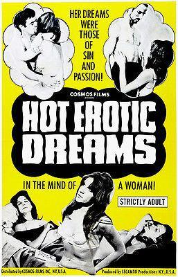 Primary image for Hot Erotic Dreams - 1968 - Movie Poster