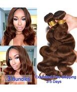 Black Rose Hair Brazilian Virgin Hair Body Wave 3 Bundles Human Hair Wea... - $47.99