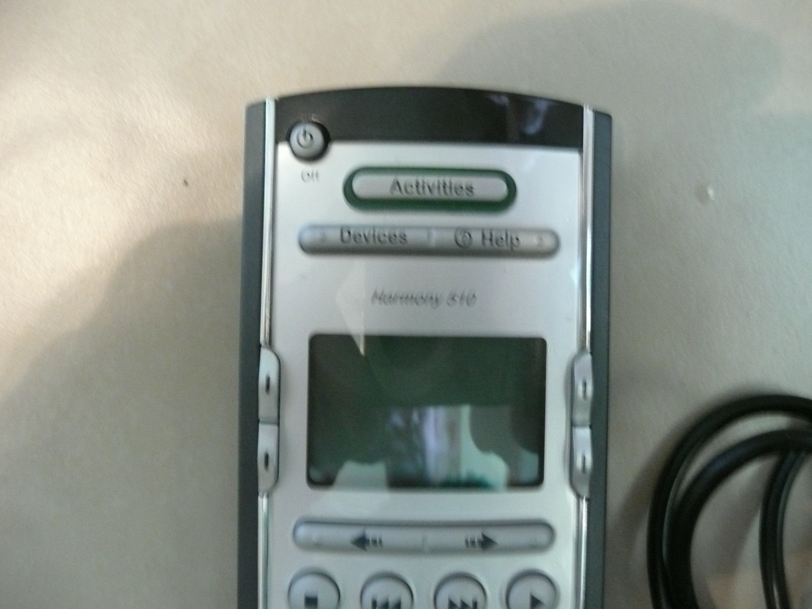 Logitech Harmony 510 Universal LCD Learning Remote Control w/ USB Cable