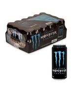 Monster Energy Drink Lo Carb Low Calorlie Cold Beverage 16 oz. Cans 24 c... - $44.54