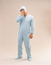 Blue Adult Baby Sleepsuit Costume - $27.59