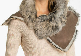 UGG Scarf Toscana Foxley Snood Chocolate Bomber NEW - $346.50