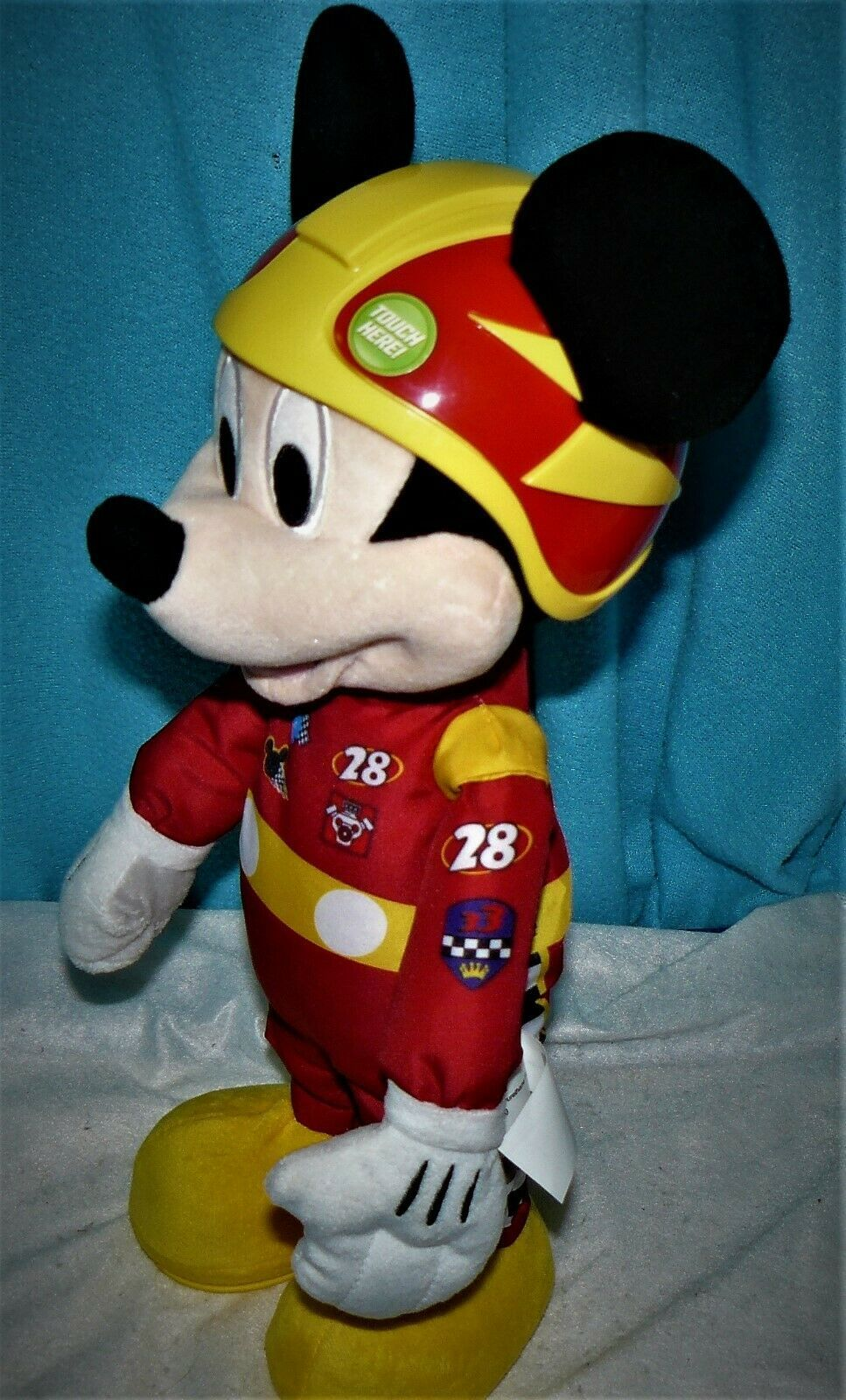 Disney Mickey And The Roadster Racers, Racing Adventures Mickey PLUSH DOLL ONLY