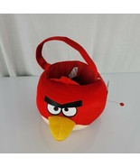 Red Angry Bird Easter Plush Basket ~ Room Decoration - $24.74