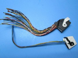 00-06 BMW 323ci 325ci 328ci Instrument cluster pigtail wire harness 2 plugs OEM - $23.99