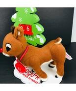 Rudolph Red Nosed Reindeer Advent Christmas Tree Calendar Dan Dee 2011 - $39.59