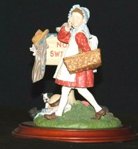 Days to Remember - Norman Rockwell Girl No Swimming Figurine AA19-1649 Vintage image 2