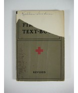 VINTAGE 1940 AMERICAN RED CROSS FIRST AID TEXTBOOK - $7.30