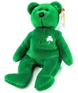 Vtg 1997 TY Beanie Baby Shamrock RETIRED Erin The Bear RARE March TAG ER... - $289.22