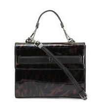Trussardi Women's Bag, Paprica Top Handle Handbag - Black - $125.77