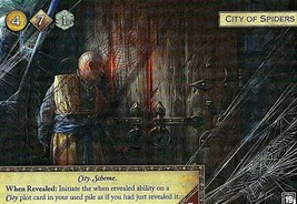 Game of Thrones Card Game LCG 2nd Ed - City of Spiders Alt Art Promo - $5.95