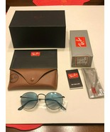 New Ray-Ban Round Metal RB3447 50MM 006/3F Sunglasses - $68.00