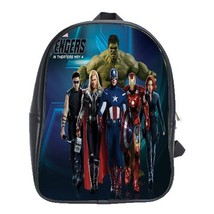 Backpack School Bag The Avengers Marvel Superheroes Fantasy Animation Mo... - $33.00