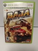 Baja Edge Of Control Microsoft Xbox 360 Video Game with Manual  Tested - $14.95