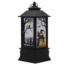 Halloween Simulation Flame Lamp lampion Halloween Pumpkin Printing Decor... - €15,84 EUR