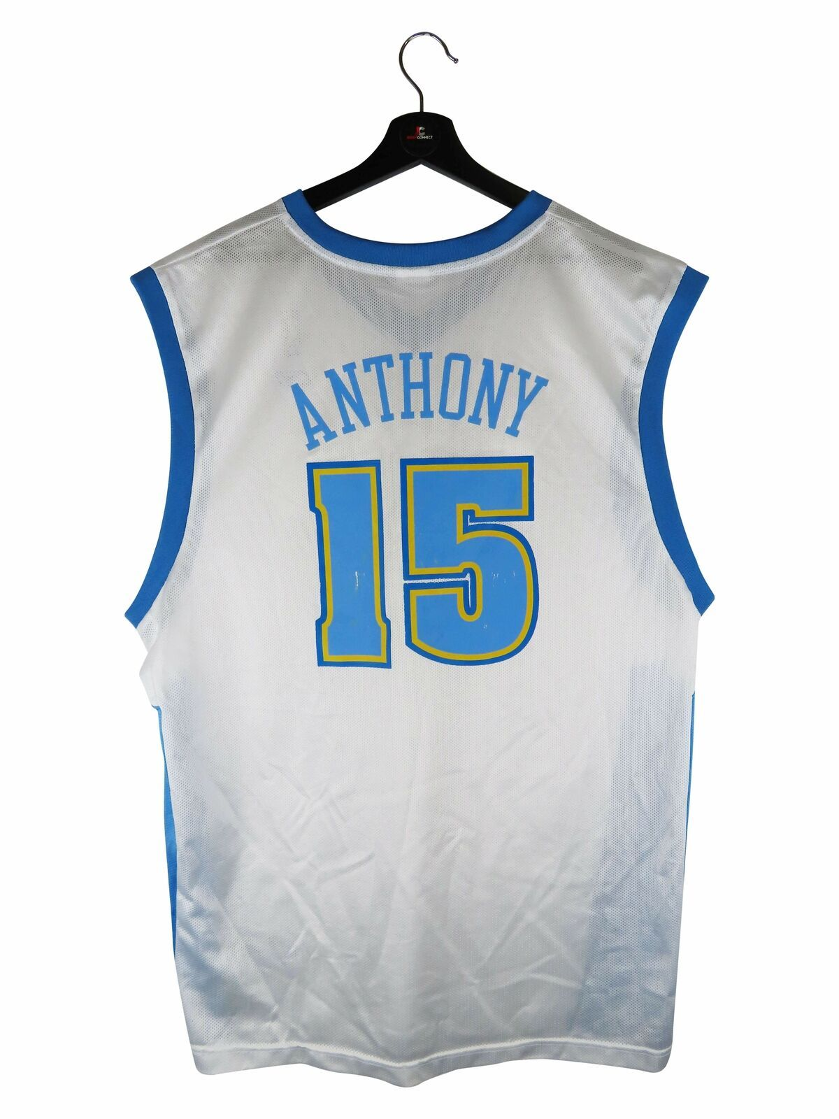 Primary image for Reebok Carmelo Anthony Denver Nuggets Replica NBA Jersey (XL)