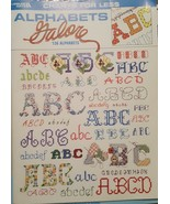 Leisure Arts Charts For Less: Alphabet Craft Book Cross Stitch 1998 VTG - $4.94