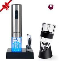 Secura SWO-3N-AR Premium Lover's Gift Set Electric Opener, Foil Cutter, ... - $41.57