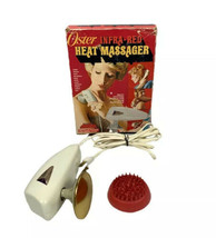 Vintage 60's Oster Infrared Heat Massager Scalp Applicator Box Tested # 219-01 - $28.86
