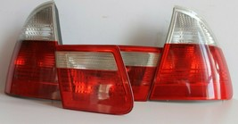 Tail Lights BMW E46 Touring Wagon OEM Clear Facelift Euro Rear Full Set 97-06' - $192.95