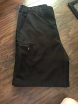 Black izod shorts 36 golf/cargo Summer Spring EUC - $18.99