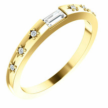 Diamond Stackable Ring In 14K Yellow Gold (1/6 ct. tw.) - $699.99