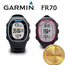 Garmin Forerunner FR70 Fitness Training Sport Watch Black/Blue Black/Pink - $33.99