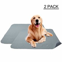 Ofpuppy 2 Pack Washable Puppy Pads Dog Training Anti Slip Super