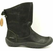 Jsport By Jambu Women Calgary Winter Boots Grey Black Textile Medium Width - $22.16