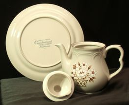 Cumberland Stoneware Mayblossom Pitcher with lid & Serving Tray AA-192035-F Vin image 5