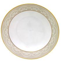 """Waterford Monique Lhuillier Cherish Rim Soup Bowl 9"""" New - $42.90"""