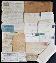 1940-50 vintage LOT EPHEMERA JULIAN ETHELYN BREWER family - $28.95